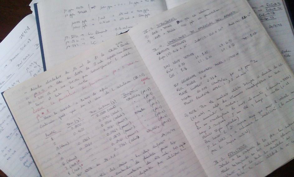 Lab books
